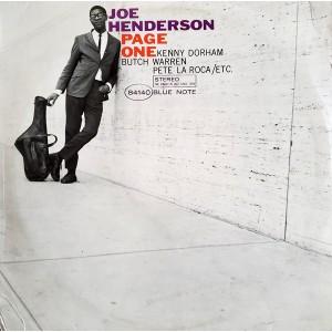 Joe Henderson - Page One...