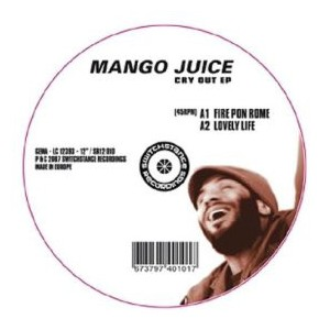 "Mango Juice - Cry Out EP (12"")"